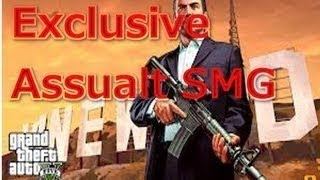 GTA 5 All Weapons And Customizations (Secret Assualt SMG