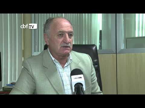 Felipão fala sobre a convocação desta quinta-feira da Seleção Brasileira
