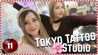 Inside a Japanese Tattoo Studio 🌸 Vlogmas Day 11