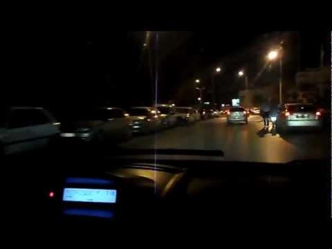 03/09/2012 - Tunisia - VIaggio da Hammamet a Tunisi con Radio Calypso - Partenza - тунис хаммамет 2012