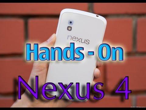 Hands-on - NEXUS 4 - :D Pt BR -