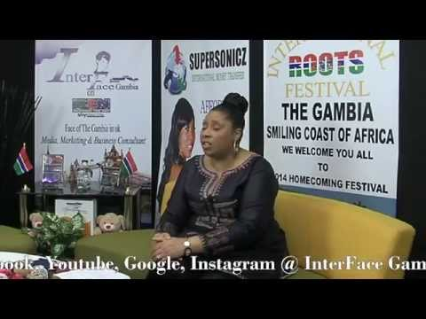 InterFace Gambia on Ben TV Fri 28th Mar 14 With Lady J  The Barti Linguerr Show