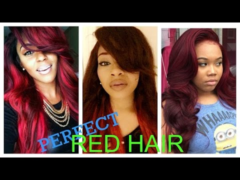 EASY PERFECT RED HAIR | NO BLEACH METHOD |