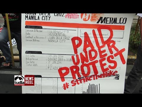 NEWSREEL: Groups protest at SC in time for oral arguments on Meralco price hike TRO
