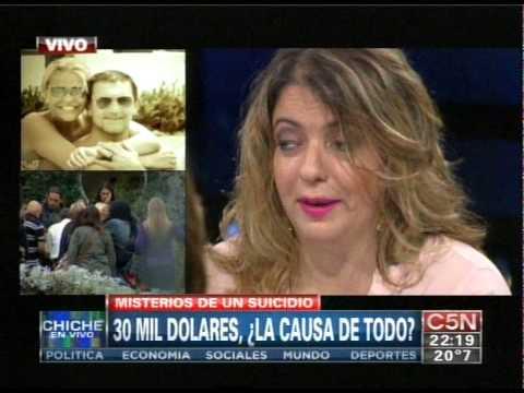 C5N - CHICHE EN VIVO: MISTERIOS DEL SUICIDIO DE FABIAN RODRIGUEZ