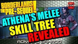"""Athena's Xiphos """"Melee"""" Skill Tree Revealed At E3 For"""
