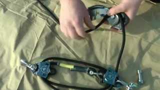 Landcruising Slackline Kit Ninja Part 1 Assembly Of