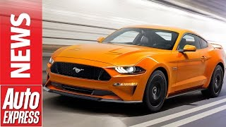New 2018 Ford Mustang revealed: facelifted bruiser adds more muscle. Auto Express.