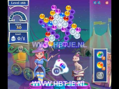 Bubble Witch Saga 2 level 169