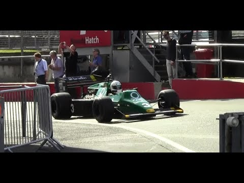 FIA Historic Formula 1 World Championship Brands Hatch 2014 HD