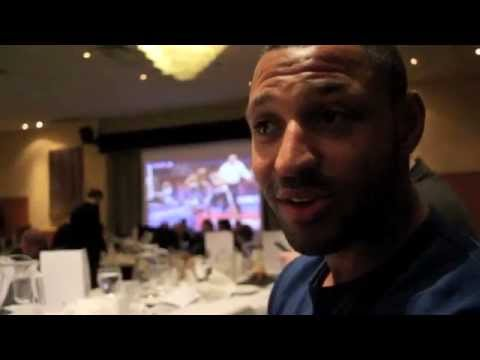 AN EVENING WITH KELL BROOK (FEAT. ADAM ETCHES) - INTERVIEW AT MDG DINNER SHOW (SHEFFIELD)