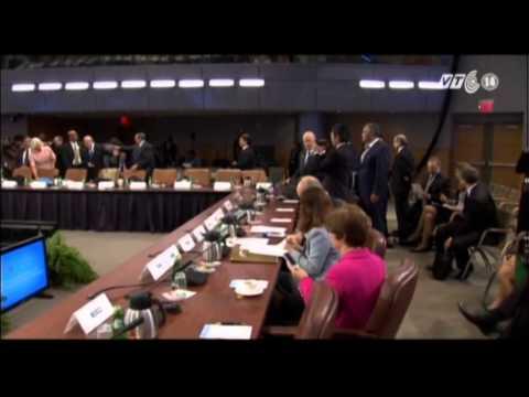 VTC14_Giới chức G-20 xem xét các vấn đề kinh tế thế giới