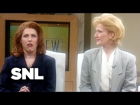 The View: Glenn Close - Saturday Night Live