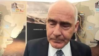 Enrique Meyer, Ministro del Turismo argentino sulla Dakar 2015