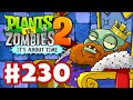 Plants vs. Zombies 2: It's About Time - Gameplay Walkthrough Part 230 - The Dark Ages Part 2 (iOS)