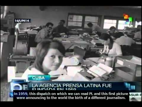 Prensa Latina news agency celebrates its 55th anniversary