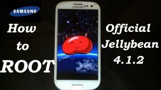 How To: Root Samsung Galaxy S3- Jellybean 4.1.2