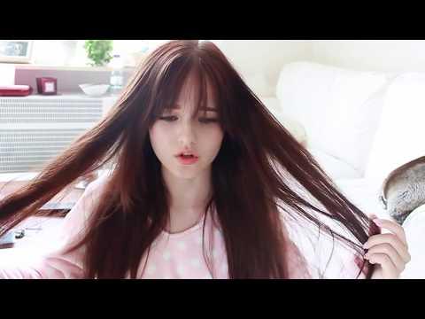 Hướng dẫn tự cắt tóc mái thưa Hàn Quốc (p.2)