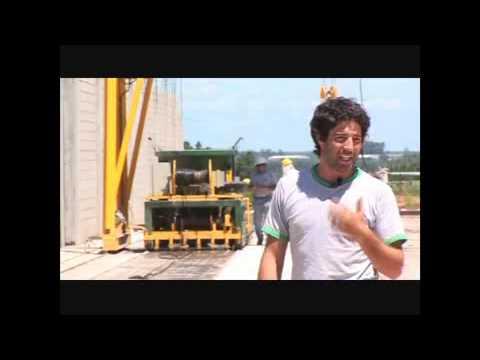 Una nueva fábrica de viguetas pretensadas funciona en Concordia