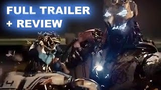 Avengers 2 Age Of Ultron Official Trailer + Trailer Review