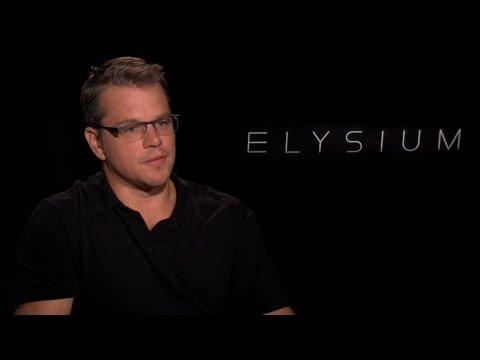 'Elysium' Matt Damon Interview