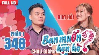 Hotgirl Bến Tre xem bói chỉ tay 'phán' chàng trai quá đào hoa   Châu Giang - Kim Hải   BMHH 348 🖐️