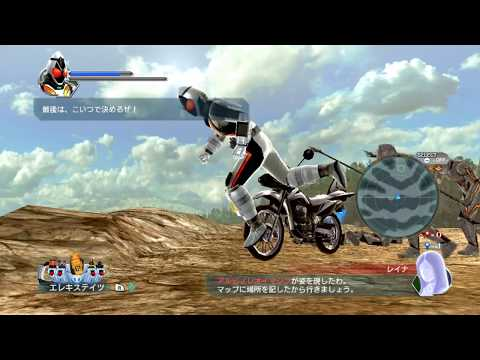 Sieu nhan game play | Game Kamen Rider Battride War II | Đại chiến hiệp sĩ mặt nạ Decade