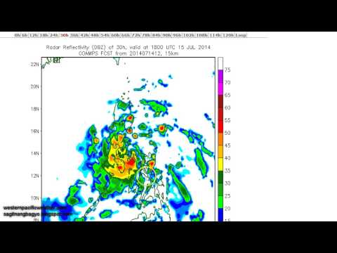 Typhoon Rammasun (Bagyong Glenda) Update | July 15, 2014