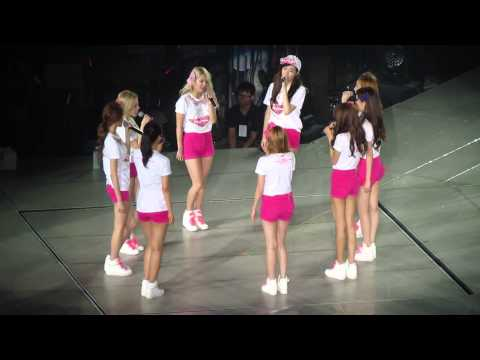 [Girl's Generation World Tour 2013 In Taiwan] Sone acapella Into The New World for SNSD