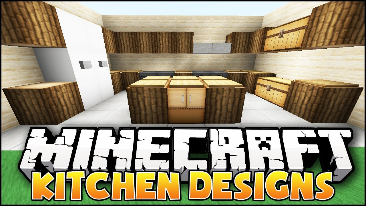Minecraft: Nice Kitchen Designs amp; Ideas  YouTube