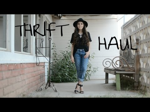 Steph's new THRIFT HAUL & Outfit Challenge!