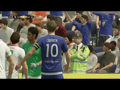 BEST FIFA 17 ULTIMATE GOALS & TACKLES OF PETER CROUCH COMPILATION