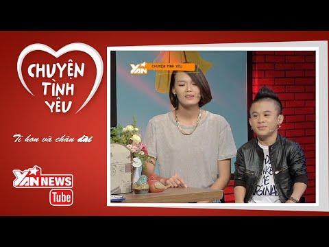 Chuyện Tình Yêu: Cặp đôi tí hon và chân dài Xuân Tiến - Thanh Thảo (Phần 1)