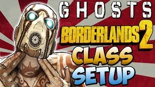 "Cod Ghosts - ""BORDERLANDS 2"" Custom Class Setup ""I'm a Vault Hunter""  (Call of Duty Ghosts)"