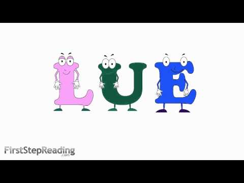 Long Vowel U Vowel Vowel , Beginning Reading Grammatical Phonics Lesson