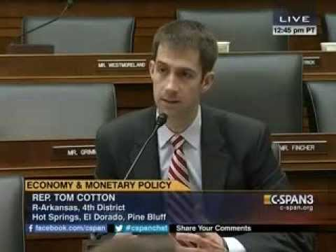 February 11, 2014: Rep. Tom Cotton's Q&A with Federal Reserve Chair Janet Yellen