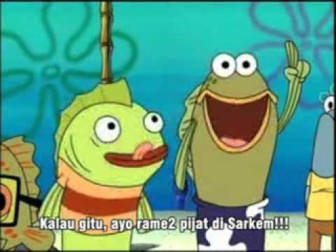 spongebob bahasa jawa