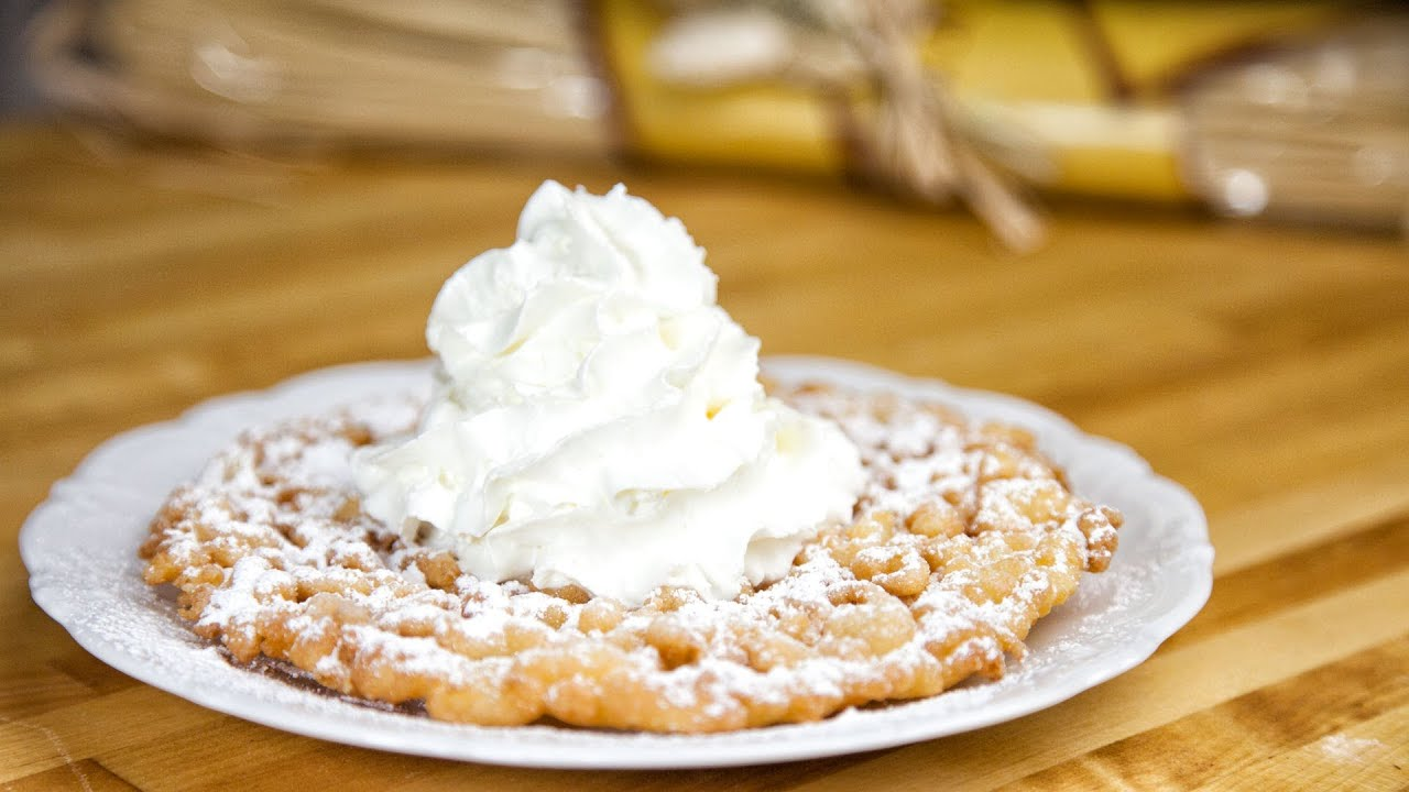 how to make funnel cake fries from scratch