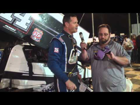 Port Royal Speedway 410 Sprint Car Victory Lane 4-19-14