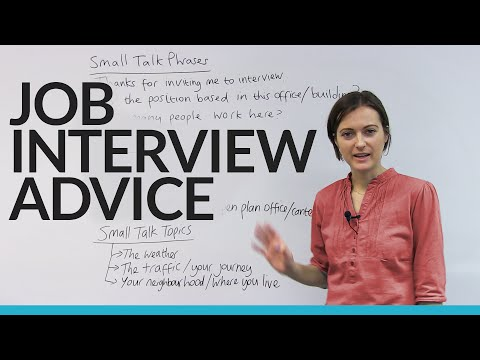 What To Say At Your Job Interview (all My BEST Phrases And