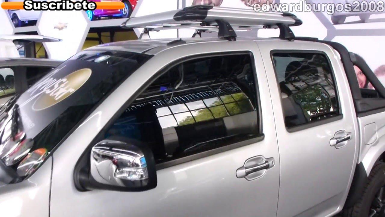 chevrolet luv dmax diesel 2013 precio colombia video auto show