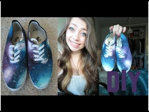 DIY: Galaxy Shoes!, I HAVE CHANGED MY TWITTER USERNAME TO https://twitter.com/daniofficiall DUE TO THE FACT I HAVE 3 Youtube channels! If you were following me on @MacAngel03 yo...