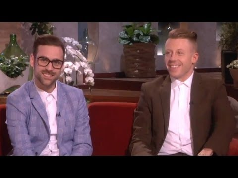Macklemore & Ryan Lewis Talks Grammys & Madonna on Ellen Show