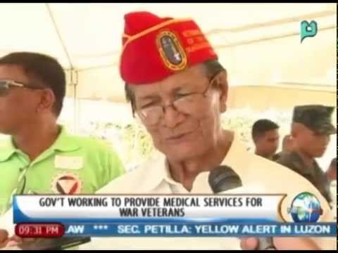 NewsLife: Gov't working to provide medical services for war veterans
