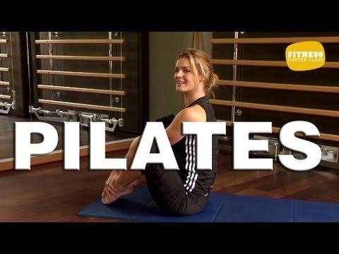 fitness master class pilates exercices de pilates pour d butant youtube. Black Bedroom Furniture Sets. Home Design Ideas