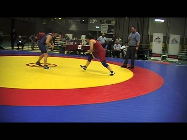 2014 Junior National Championships: 67 kg Therese El-Lati vs. Zandri Botha