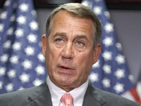 Boehner Says He Intends to Sue Pres. Obama