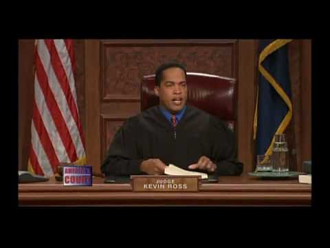 Anji ray as nicole white on america s court with judge ross i almost