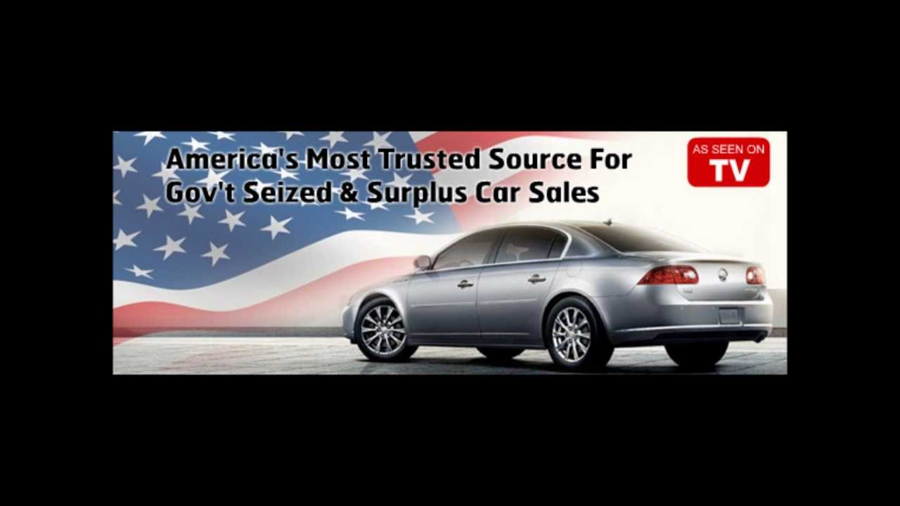 Government Auctions Cars: Get Cheap Gov Seized Cars And