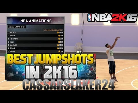 NBA 2K16 Tips/Tricks - The Best Jump Shot's Ever Perfect A+ Release every Shot!! 100% After Patch 6